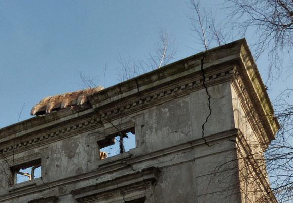 Februar 2015 - Abriss der alten Villa an der Rotthauser Str. in Kray