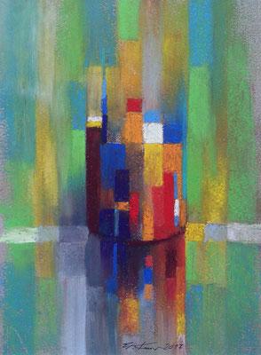 """""""Becher"""", Pastell, 23 x 16"""