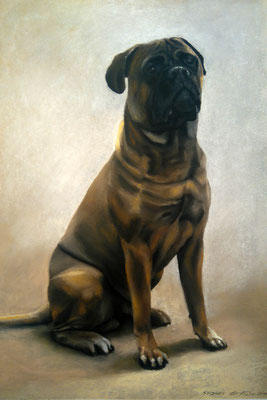 """""""Snorre"""", Pastell, 36 x 52"""