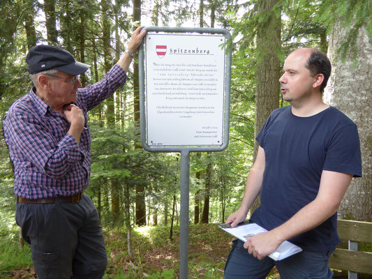 Exkursion Erdburgen im Emmental
