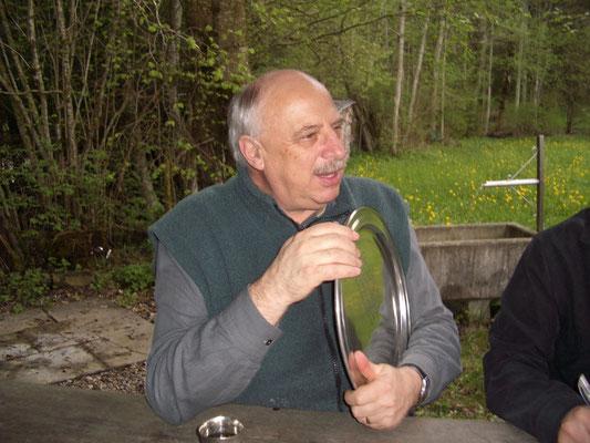 Oberst Urs Berger, Präsident 1982-1991