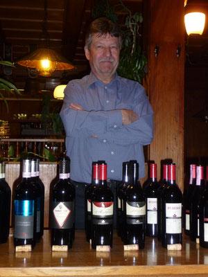 Weinseminar in den Anfängen