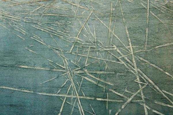 o.T., (Detail) 2014 Mischtechnik auf Leinwand 130 x 150 cm
