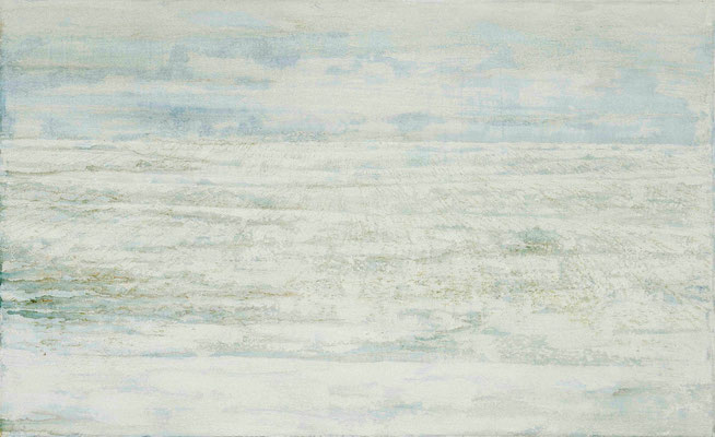 o.T., 2013 Mischtechnik auf Leinwand 180 x 110 cm
