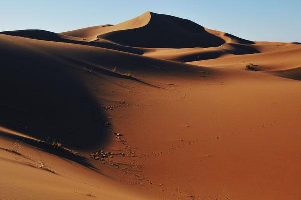 Trek en silence avec l'agence Mélodie du désert