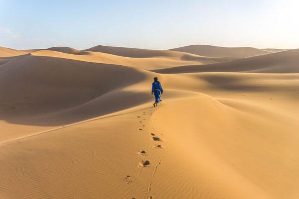 Qi gong désert maroc