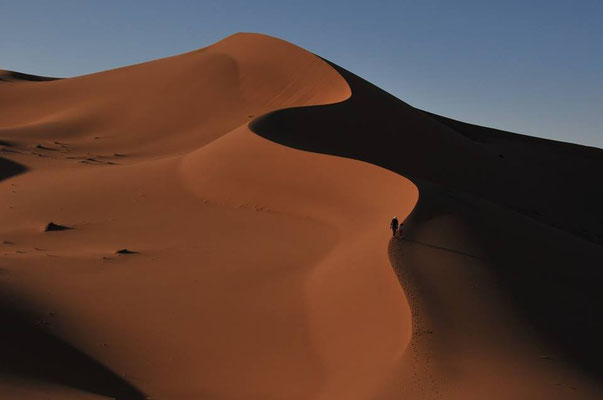 Voyage trek sahara Marocain