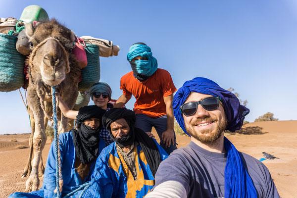 Trek désert Maroc