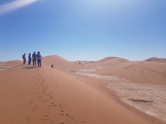 Yoga désert Maroc