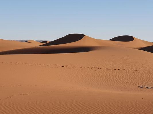 Dormir dans le désert marocain