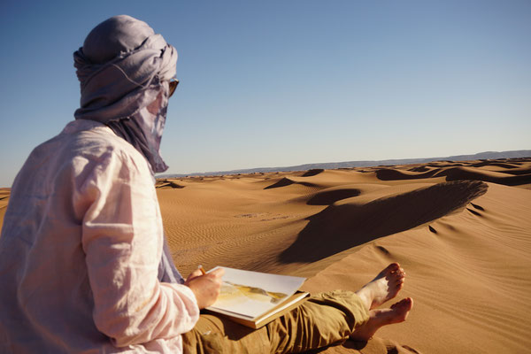 Trek jeûne désert maroc