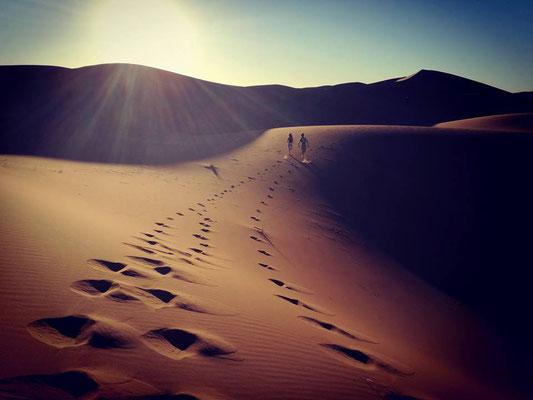 Une semaine dans le désert au Maroc