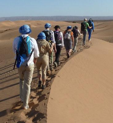 Trekking désert à la carte