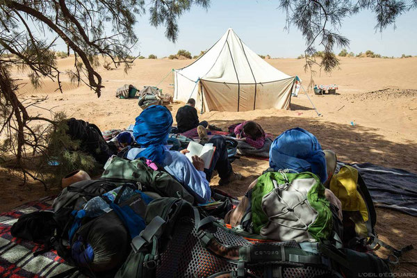 trek desert maroc