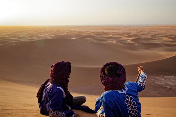 Magnifique vue sur les dunes