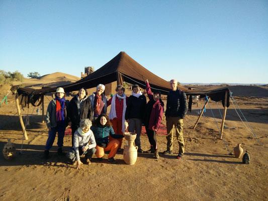 A la rencontre de soi au cœur du désert Marocain