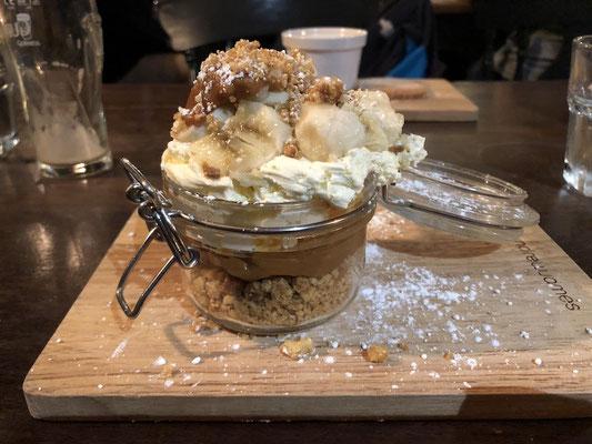 Banoffee Pie mit Caramel zum reinknien!