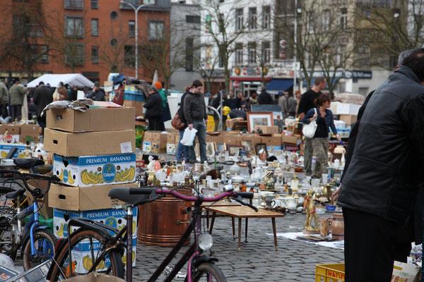 Flohmarkt in Brüssel