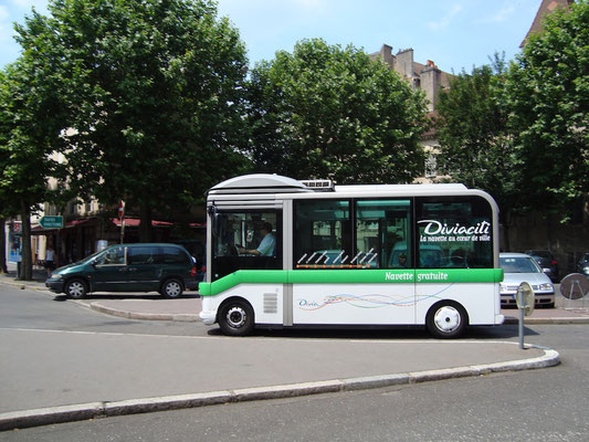 Bus in Dijon