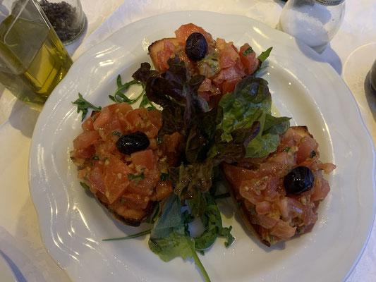 Abendessen beim Italiener