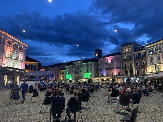 Am Abend in Locarno