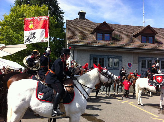 Berittene Artilleriemusik Solothurn