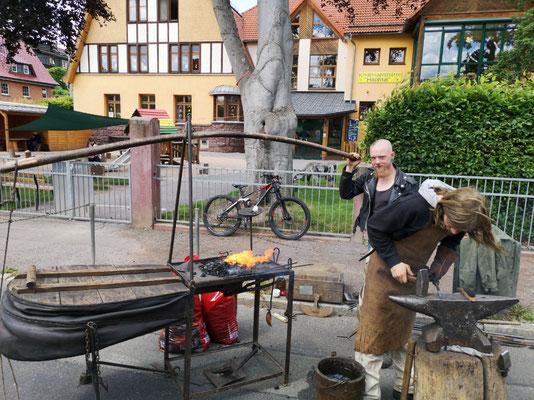 Schmiedetreffen Steinbach-Hallenberg 2019 /