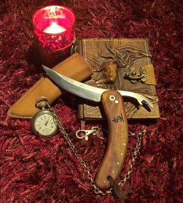 Telchinen-Messer mit Flaschenöffner