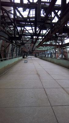 Gichtbrücke auf 27Meter Höhe