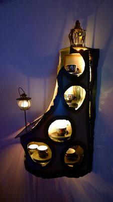 Hundertwasser - Tassen - Regal