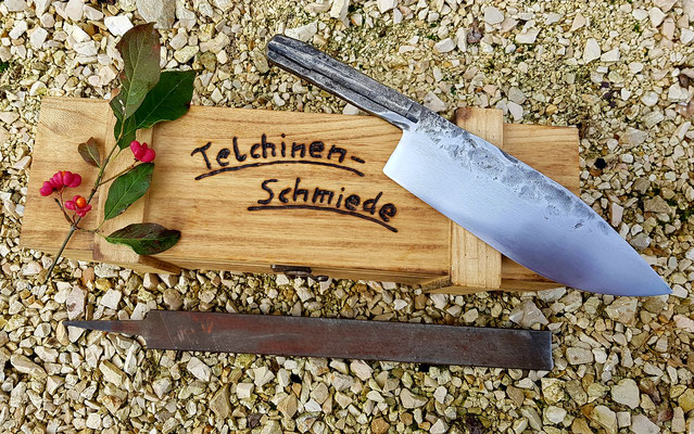 Chef-Messer aus der Telchinen-Schmiede