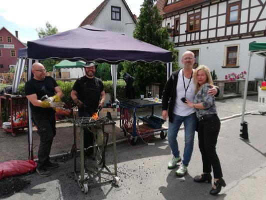Schmiedetreffen Steinbach-Hallenberg 2019 /  Corpus Ferrum & die Telchinen-Schmiede
