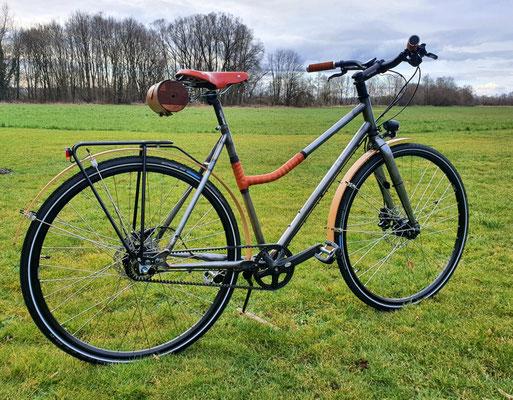 Ein Design-Fahrrad aus der Telchinen-Schmiede