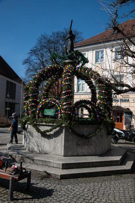 Osterbrunnen Ichenhausen 2018