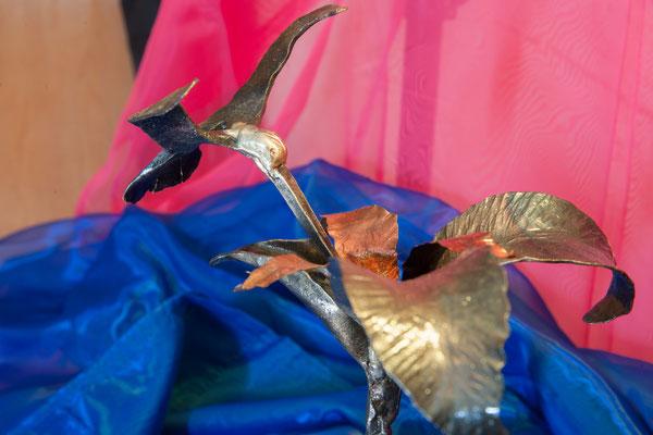 Geschmiedeter Kolibri