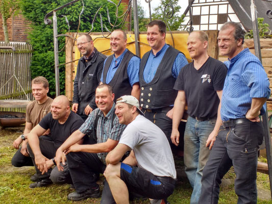 Treffen der Schmiede in der alten Schöpf´schen Schmiede in Niefern-Öschelbronn 2019 /