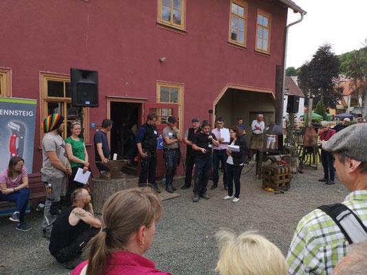 Schmiedetreffen Steinbach-Hallenberg 2019 / Preisverleihung