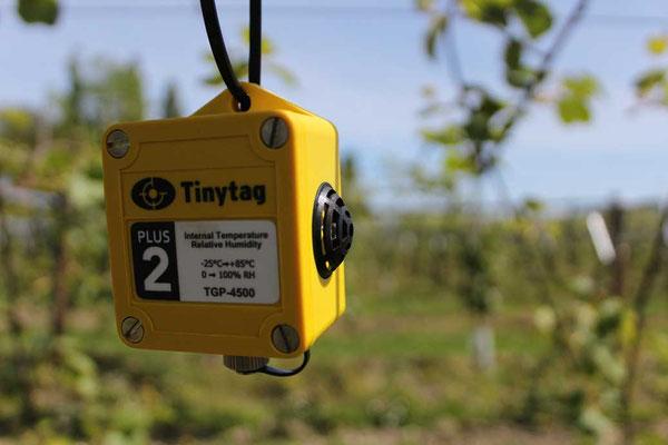 Tinytag mesure température Hygrométrie