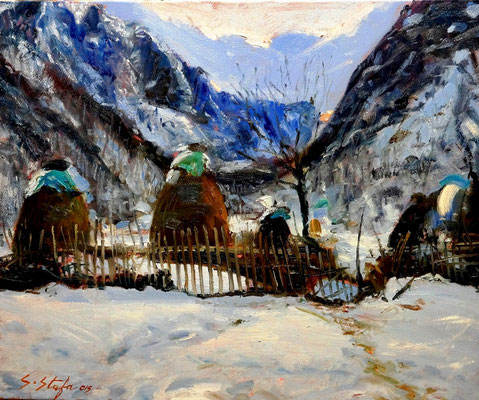 Valbona 60X50 cm oil on linencanvas