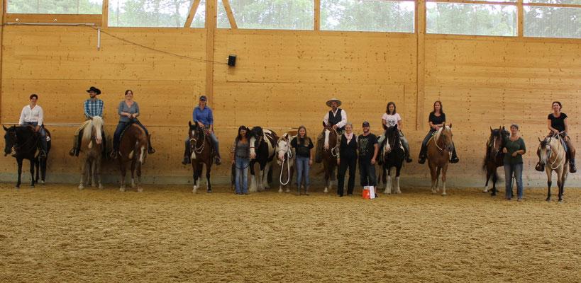 Clinic 2, Horsemanship Class