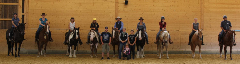 Clinic 1, Horsemanship Class