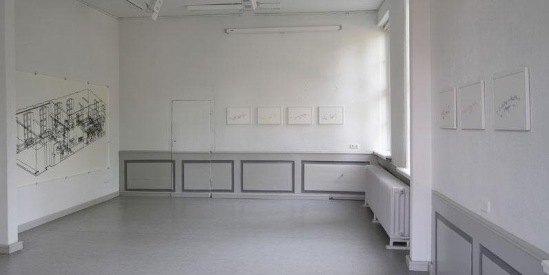 Möbelrücken . Ausstellungsansicht . Künstlerhaus Meinersen