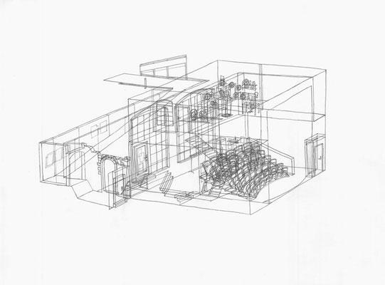 Luru . 2017 . Bleistift auf Papier . 30 x 40 cm