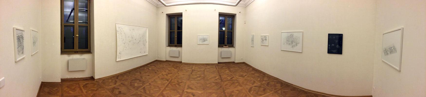 Georgium . 2020 . Ausstellungsansicht . Anhaltische Gemäldegalerie Dessau Graphische Sammlung