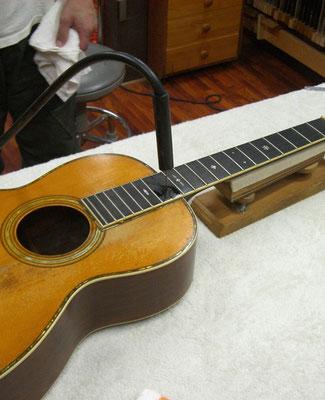 修理 ネックリセット Martin 0-42  1928