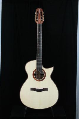 Model  OM-SC  キルティッド・メープル
