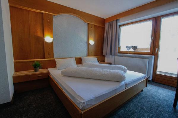 Beispiel Doppelzimmer im Appartement