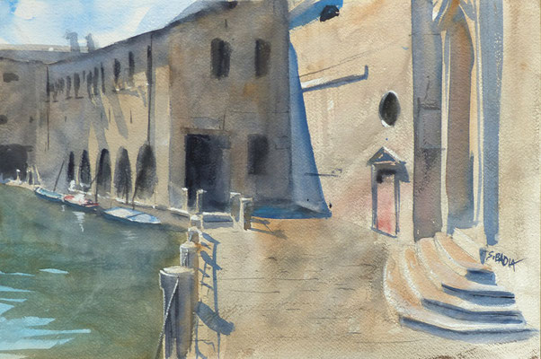 Venise - auqarelle sur papier