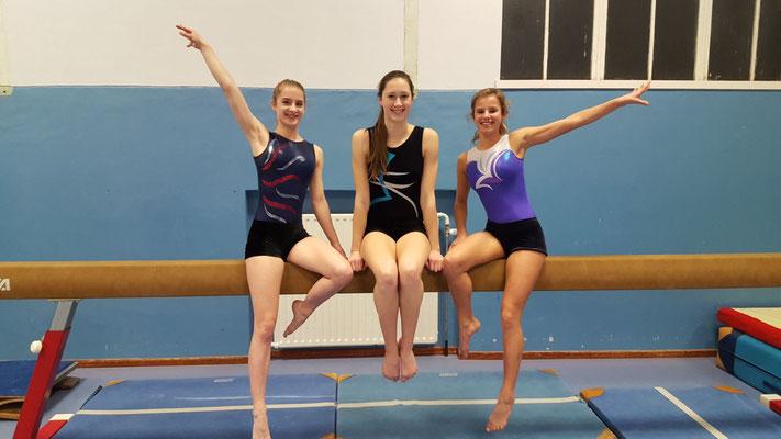 Fabienne,Anne en Isa