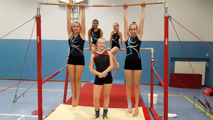Meike,Chanty-li,Julia,Charlotte en Noa